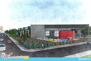 The Mississippi Children's Museum satellite in Meridian will be located inside a former Sears department store at 403 22nd Ave. in Meridian. Photo courtesy WBA Exterior Rendering