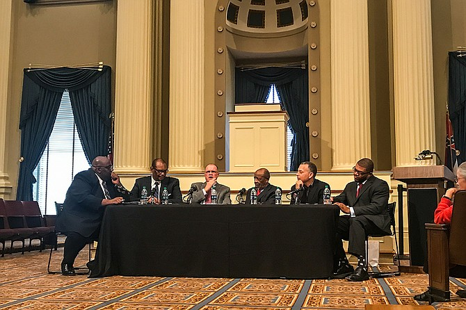 The Mississippi Humanities Council sponsored a three-day, four-part series to discuss the history of the kneel-in movement to desegregate Jackson churches in the 1960s. Photo by Ko Bragg