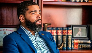 Though in Boston during the first people's assembly on Nov. 28, Mayor Chokwe Antar Lumumba emphasizes that the gatherings are independent of whomever is in office because they focus on the people's power.