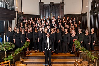 "The Grande Chorus of the Mississippi Chorus performs the first movement of Handel's ""Messiah"" on Saturday, Dec. 16, at Woodland Hills Baptist Church. Photo courtesy of the Mississippi Chorus"