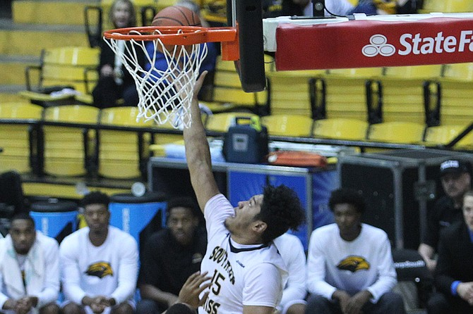 Eddie Davis Photo courtesy USM Athletics