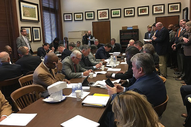 Three House committees met on Wednesday, Jan. 3, and passed out a package of bills that could divert more funding to the state's roads and bridges.