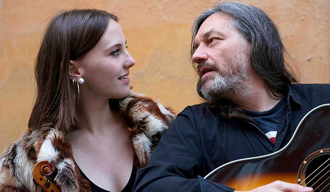 (Left to Right) Olivia and Marty Willson-Piper perform at Steve's Deli in Jackson on Saturday, Jan. 13.