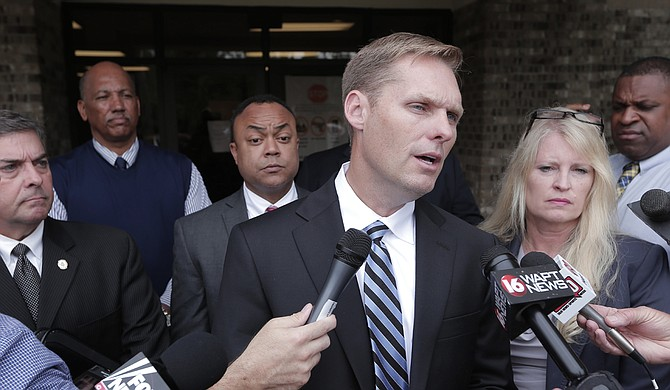 Michael Guest of Brandon, a district attorney, entered the race Jan. 5, one day after Republican Rep. Gregg Harper said he won't seek re-election to the seat he first won in 2008.