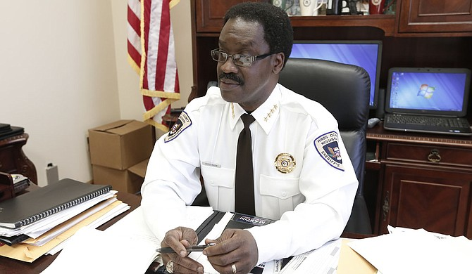 "Hinds County Sheriff Victor Mason wrote a memo to his employees basically saying they need to get on board with his leadership or ""get out of his way."""