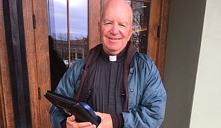 Father Michael McAndrew Photo by Joe Atkins