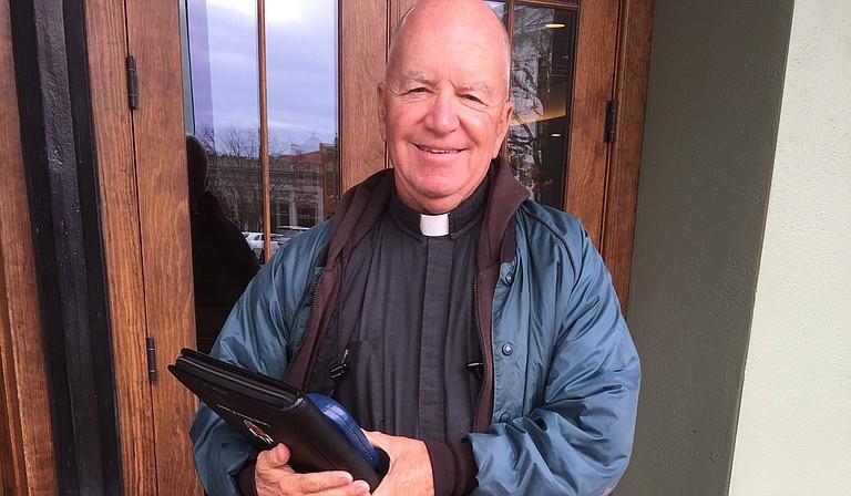Father Michael McAndrew Photo by Joe Atkins