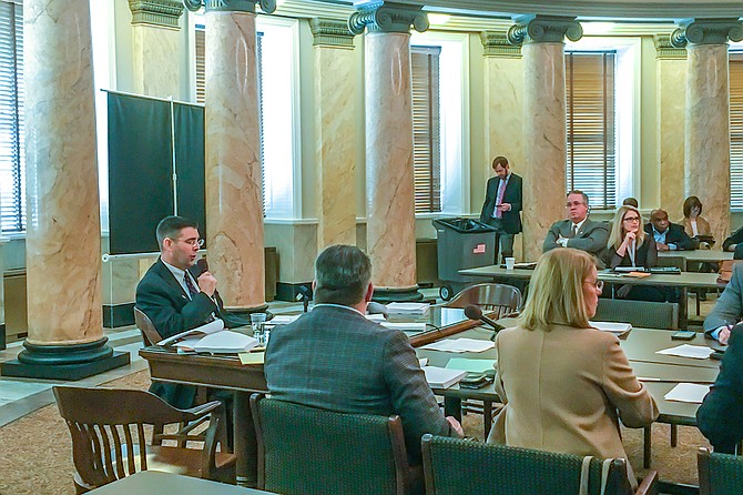 """Rep. Andy Gipson, R-Braxton, supported the """"Mississippi Anti-Gang Act,"""" and his Judiciary B Committee passed it on to the full House this morning."""