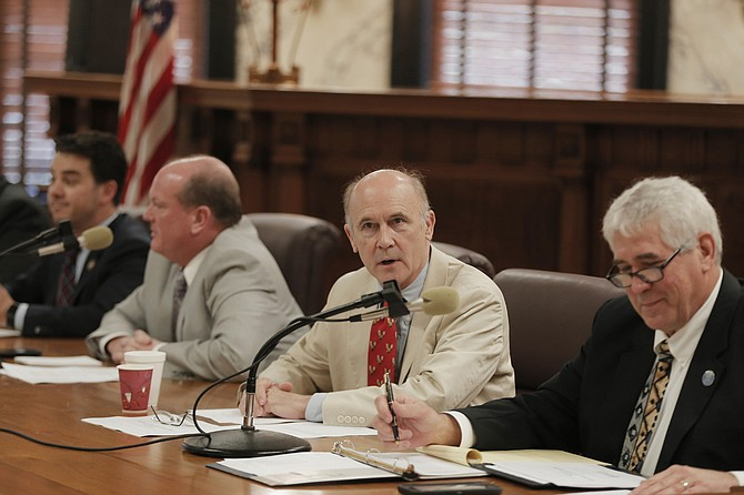 Sen. Hob Bryant, D-Amory, told the Senate Finance Committee that Senate Bill 2455 would send a slightly larger share of state sales tax revenue to cities and counties to help pay for infrastructure projects such as roads, bridges and water and sewer system improvements.