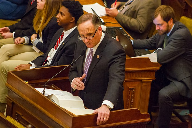 Rep. Mark Baker, R-Brandon, introduced a bill that would prohibit the attorney general from bringing claims under the Mississippi Consumer Protection Act.