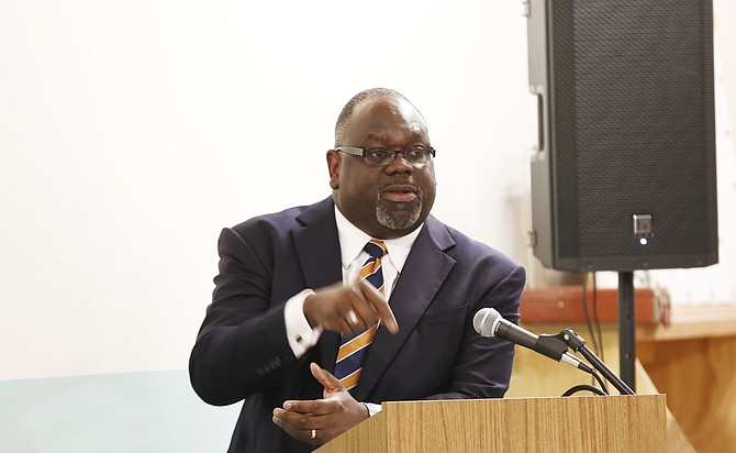 The Monday hearing before U.S. District Judge Carlton Reeves was the second time Reeves had taken up claims from inmates held in the Lauderdale County jail in Meridian.