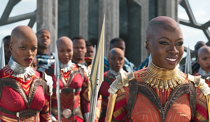 've always known of tribes of African women warriors, but seeing them in a respected film series like what Marvel is known for, and under the direction of rising star Ryan Coogler, did something to my soul. His insistence on grace and femininity in each fighting scene can't go unrecognized. Photo courtesy Marvel Studios