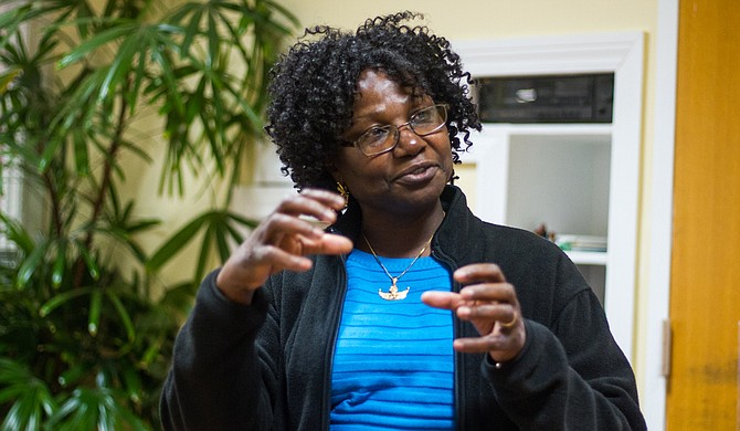 Ruth Jinkiri hosts classes in the autism resource center in the Eudora Welty Library for as many as 135 local families. The classes include 3-year-olds all the way up to 60-year-olds who are on the autism spectrum.