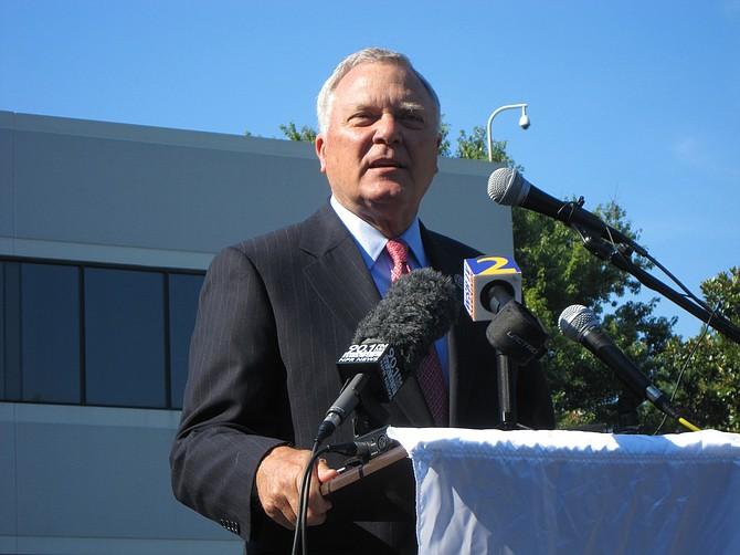 """Republican Gov. Nathan Deal criticized the Delta controversy as an """"unbecoming squabble"""" but said he would sign the broader tax measure in whatever form it passed. Photo courtesy City of Marietta"""