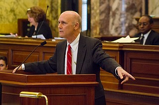 Sen. Hob Bryan, D-Amory, had one more trick up his sleeve on Thursday, when he introduced a motion to recommit the new education funding proposal to committee killing it, which all the Democrats and eight Republicans supported.