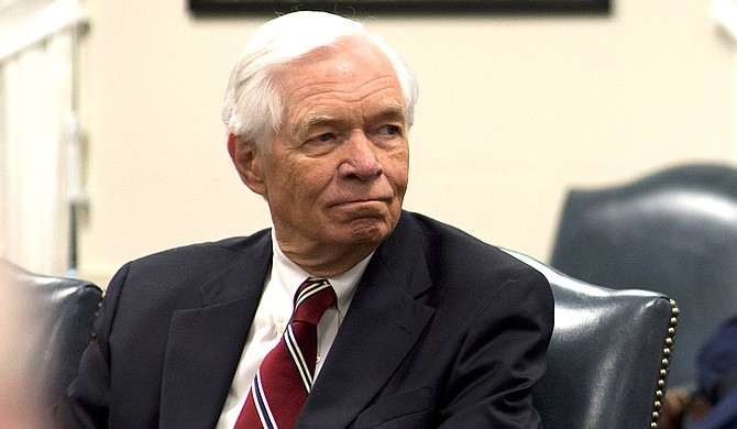 Sen. Thad Cochran, a Republican from Mississippi, says he will resign April 1. Photo courtesy Flickr/Chuck Hagel