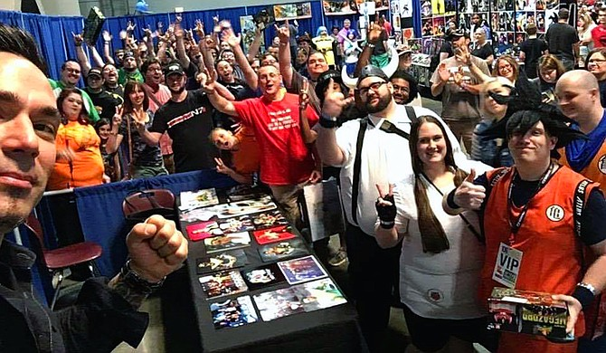 The Mississippi Anime Festival, which takes place March 10 at the Mississippi Trade Mart, brings together vendors, special guests, artists, cosplayers and more under one roof to celebrate Japanese animation and pop culture. Photo courtesy Mississippi Anime Festival