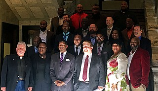 Pastors and advocates gathered at the Mississippi Capitol last week to express support for criminal-justice reform bills still alive this session.