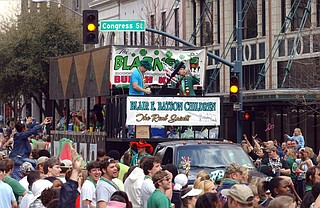 Plenty of local places have plans for this year's Hal's St. Paddy's Parade in Jackson. Photo courtesy Hal's St. Paddy's Parade