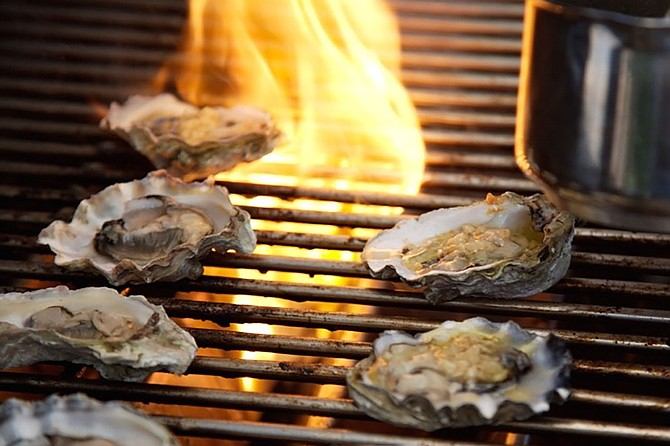 Celebrate spring with restaurants such as this year's winner for Best Seafood and Best Place for Oysters, Half Shell Oyster House. Photo courtesy Half Shell Oyster House