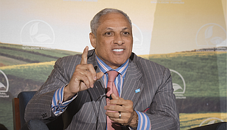 Mike Espy is also Mississippi's first African-American elected to Congress since Reconstruction. He confirmed Friday that he'll run in a special election to finish the term started by longtime Republican Thad Cochran. Photo courtesy Lance Cheung