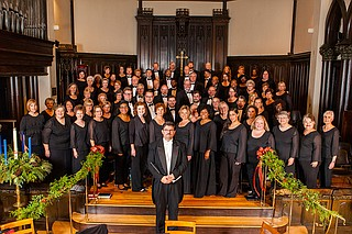 "The Mississippi Chorus performs ""Music Changes Everything,"" a concert featuring all Mississippi composers, on April 14 at Pearl High School. Photo courtesy Mississippi Chrous"