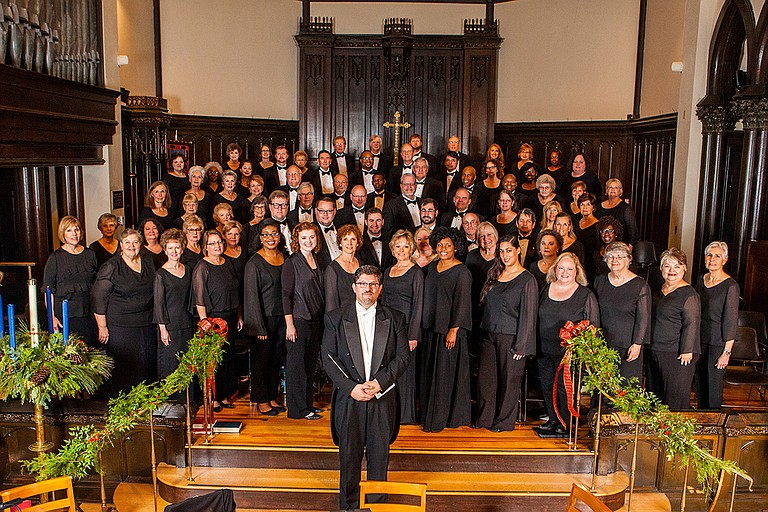 """The Mississippi Chorus performs """"Music Changes Everything,"""" a concert featuring all Mississippi composers, on April 14 at Pearl High School. Photo courtesy Mississippi Chrous"""