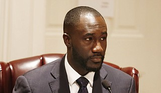 Tony Yarber (pictured) entered City Hall in April 2014 after winning a special election following the sudden death of the late Chokwe Lumumba. In a now-settled sexual-harassment lawsuit from 2016, Yarber's executive assistant, Kimberly Bracey, alleged wild interactions between Yarber and Mitzi Bickers—both pastors.