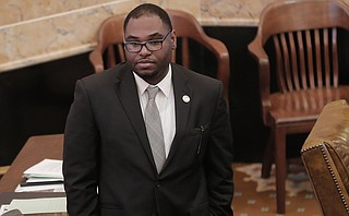 "Democratic Rep. Jarvis Dortch of Jackson says a gasoline tax increase in exchange for an income tax decrease is ""obscene"" and would hurt the working poor."