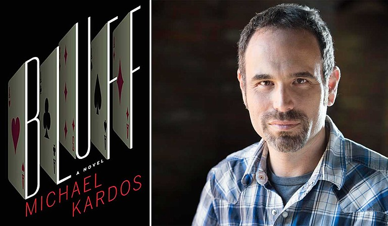 "Mississippi author Michael Kardos released his latest novel, ""Bluff,"" on April 3."