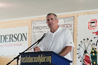 House Speaker Philip Gunn, R-Clinton, announced a new road-funding proposal last week, but efforts to divert for funds to roads and bridges could continue to stall. This is a file photo from the Neshoba County Fair.