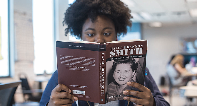 "After attending Jeffery B. Howell's ""History is Lunch"" talk about his upcoming book on white newspaper editor Hazel Brannon Smith in the summer of 2017 with the Youth Media Project, I was faced with something I didn't think was possible: a converted racist."