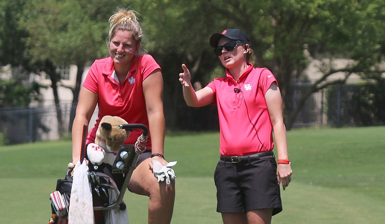 Leonie Harm (left) and Lucy Nunn (right)