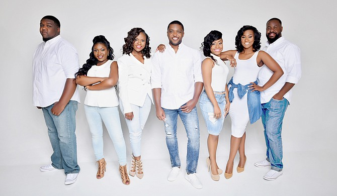 """Brandon Mitchell & S.W.A.P., or Singers With a Purpose, perform for the release show for their latest album, """"Amazing,"""" on May 18 at Jackson Revival Center."""