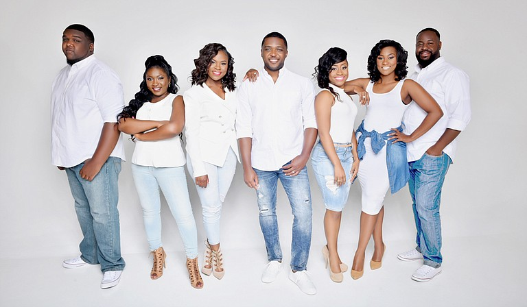 "Brandon Mitchell & S.W.A.P., or Singers With a Purpose, perform for the release show for their latest album, ""Amazing,"" on May 18 at Jackson Revival Center."