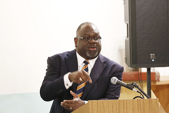 U.S. District Judge Carlton Reeves heard arguments Friday from Mississippi's secretary of state and the U.S. Securities and Exchange Commission on plans to hire a receiver. Records show Reeves plans to rule later.