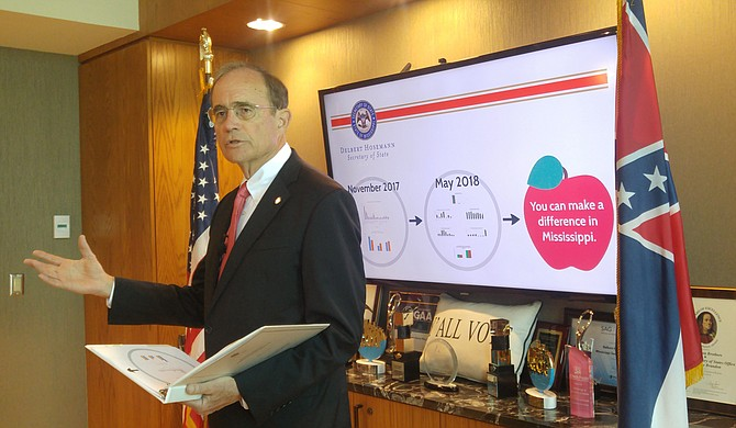 Secretary of State Delbert Hosemann said Mississippi businesses are looking for employees with a strong work ethic, according to a recent survey from the Secretary of State's Office.