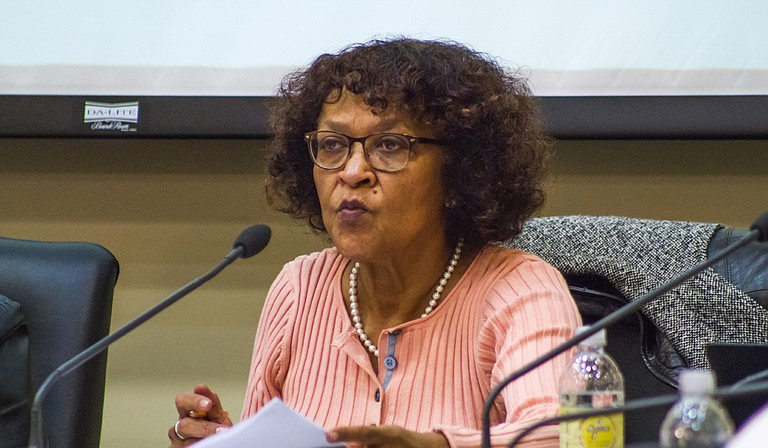 Dr. Jeanne Hairston said the three superintendent candidates come from cities and states that are similar to Jackson.
