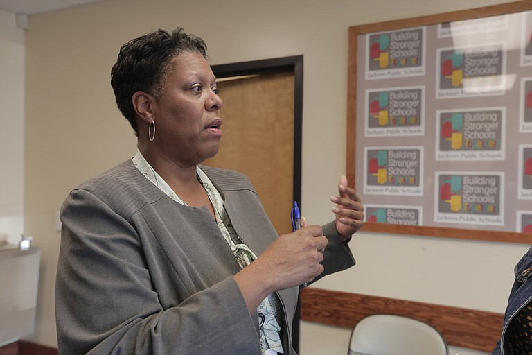 Jackson Public Schools' Chief Financial Officer Sharolyn Miller said the district's current facilities budget would only cover one air-conditioner unit needed in the district, explaining the need for a bond referendum.