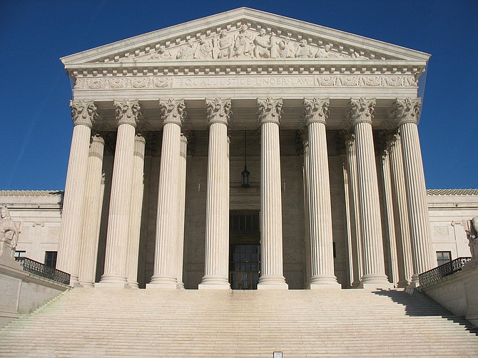 The Supreme Court says a California law that forces anti-abortion crisis pregnancy centers to provide information about abortion probably violates the Constitution.