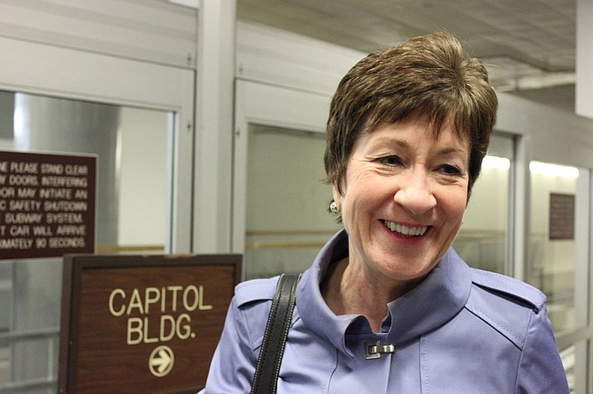 Republican Sen. Susan Collins, a key vote on President Donald Trump's pick for the Supreme Court, said Sunday she would oppose any nominee she believed would overturn the landmark Roe v. Wade decision that legalized abortion.