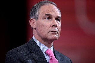 President Donald Trump says he has accepted the resignation of scandal-plagued Environmental Protection Agency Administrator Scott Pruitt.