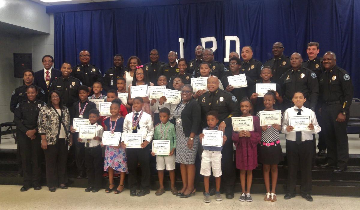 Children Graduate from JPD Citizens' Academy
