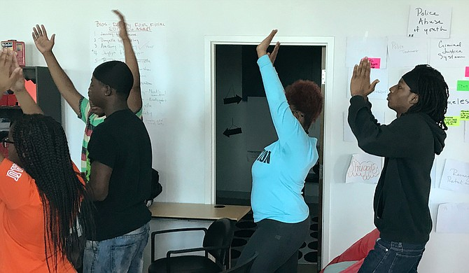 Summer 2018 Youth Media Project students are embracing lessons on video, writing, photography, music production, project management, communication—and relaxation and focus, thanks to trainer Laurel Isbister.