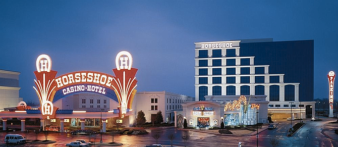 By mid-August, Harrah's Gulf Coast in Biloxi and Horseshoe Tunica (pictured), both in Mississippi, will begin taking on-premises sports bets.