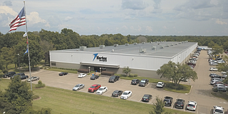 Vertex Aerospace announced Friday that it will invest $1.4 million and hire 70 front-office workers over the next two years at its Madison office (pictured). The company currently employs 340 there, and 856 more statewide.