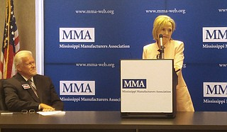 The Mississippi Manufacturers Association endorsed Cindy Hyde-Smith on Monday.