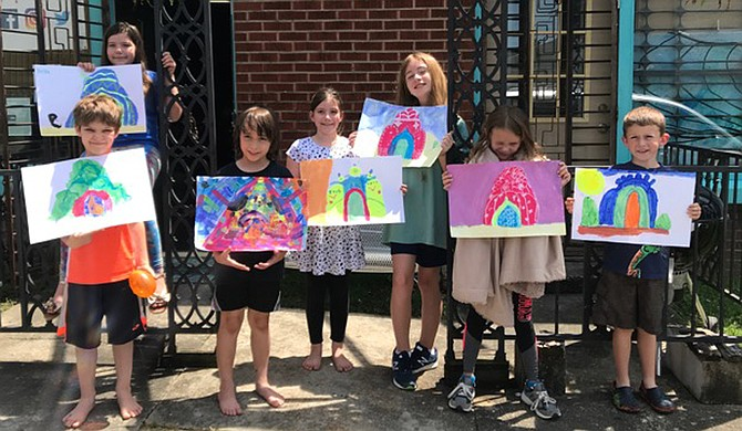 Participants in The Community Canvas at Jax-Zen's Kidi-Zen Multicultural Art Camp this summer learned about other cultures through creativity.