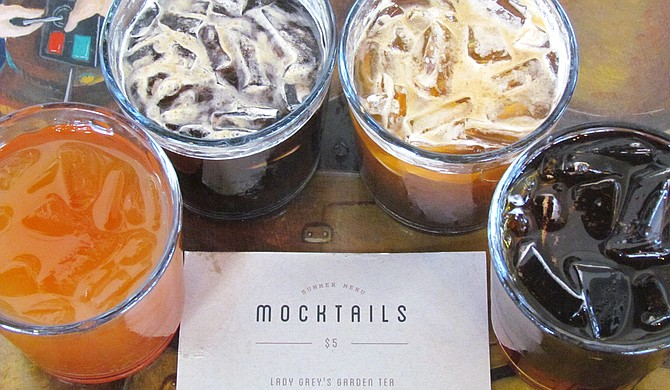 Cups' four new mocktails are $5 each.