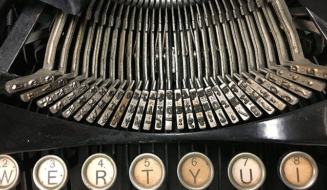 "Ernest Hemingway's 1929 Underwood Standard typewriter is among those that will be on display in the ""Famous Types"" exhibition at Mississippi State University."